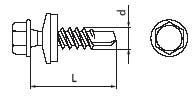 Схема саморезов для крепления штакетника